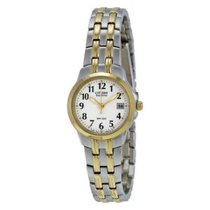 NEW-Citizen-Silhouette-Ladies-Eco-Drive-Watch-EW1544-53A
