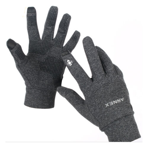 Men/'s Women/'s Winter Smartphone Touch Screen Gloves Mittens Outdoor Sports Gray
