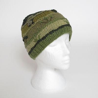 Funky Hand Knitted Invernale Di Lana Crazy Cucito Cappello Beanie Unisex Csb14-mostra Il Titolo Originale Materiali Di Alta Qualità