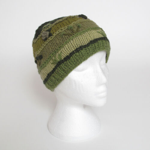 Funky main maille hiver laine Crazy cousu Beanie Hat Unisexe csb14