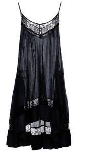 P.A.R.O.S.H. () Short Dress with Petticoat Dark Blau XS NWT