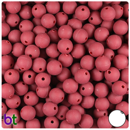 Color choice 300pcs BeadTin Matte 8mm Round Plastic Beads