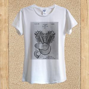 W-S-Harley-Davidson-Project-T-shirt-Design-Patent-History-1919-unisex-women
