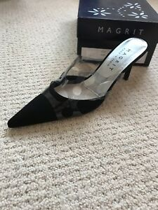 Magrit Court Black uk 6 39 Suede 7w7EqHr