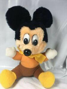 Vintage-Disney-039-s-Mickey-Mouse-Plush-Toy-Bob-Cratchit-Mickey-s-Christmas-Carol