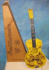Vintage Rich Toys Range Rhythm #22 WRANGLER Acoustic Guitar Cowboy w/Box J897