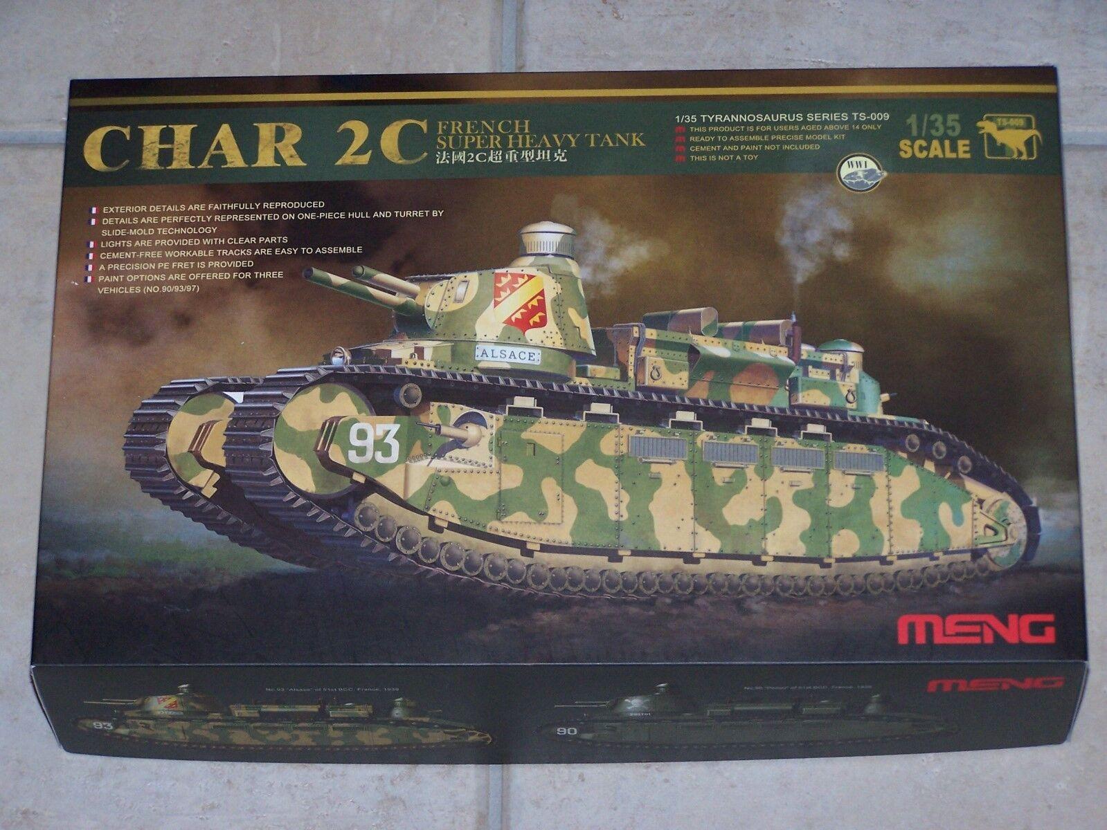Maquette MENG 1 35ème CHAR 2C TYRANNOSAURUS SERIES TS-009