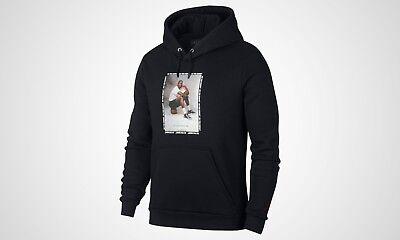 NEW 943928 010 MEN'S Nike Jordan Sportswear Flight Fleece AJ 3 Sweater !! BLACK | eBay