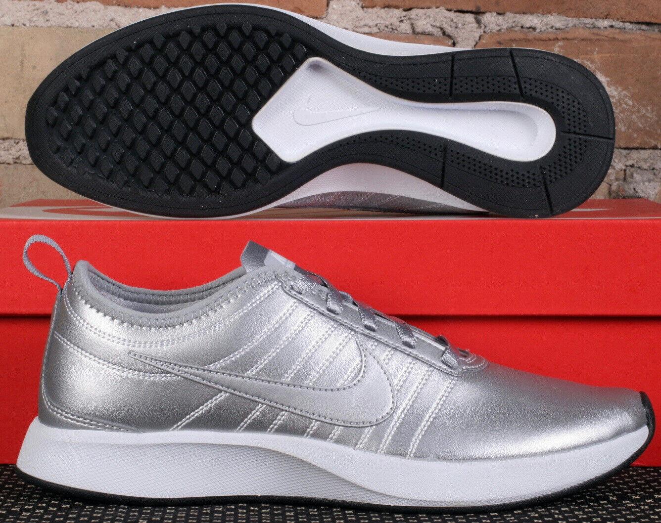 donna Nike  Dualstone Racer PRM Metallic argento Running scarpe AH0312 001 Dimensione 7.5  preferenziale
