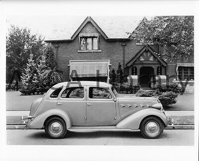 Picture 1937 Graham Series 116 Supercharged Sedan Factory Photo Ref. #45027