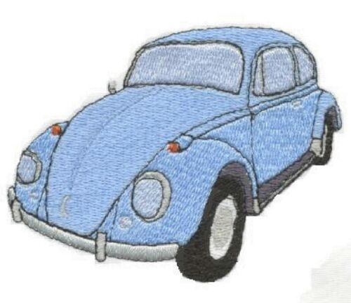 VW Beetle Embroidered /& Personalised Polo Shirt