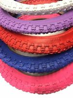 Bmx 16 In Kids Bicycle Tire Purple/ Blue/ Pink/ Red/ White