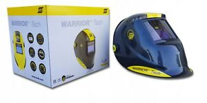 ESAB-Warrior-Tech-Auto-Darkening-Welding-Helmet-BLACK-DIN-9-13-520g-TIG-WIG-MIG