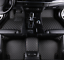 For Audi A8 A8 Quattro 2006~2018 leather Car Floor Mats Waterproof Mat