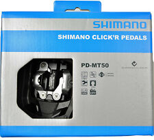 NEW 2017 Shimano Click'r Easy Release MTB Trail Dual Sided SPD Pedals: PD-MT50