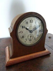 Antique Early 20th Century Gustav Becker Mantel Clock (Winding Mechanism Alarm)