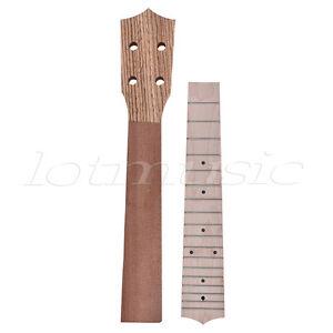 neck and fretboard for ukulele concert ukelele 23 inch hawaii guitar parts maple ebay. Black Bedroom Furniture Sets. Home Design Ideas