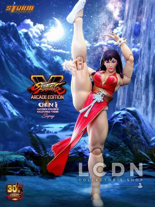 STREET FIGHTER V Chun-Li Arcade Edition 1 12 STORM TOYS SHCC Exclusive 2018