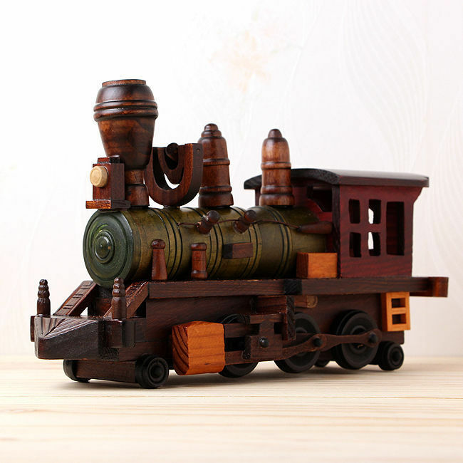 30cm 11,8  in handarbeit mit antiken retro - zug - lokomotive - modell