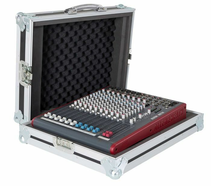 Allen & Heath ZED-22FX Mixer Flight Case with Carrying Handle