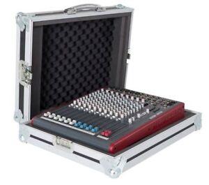 allen heath zed 22fx mixer flight case with carrying handle ebay. Black Bedroom Furniture Sets. Home Design Ideas