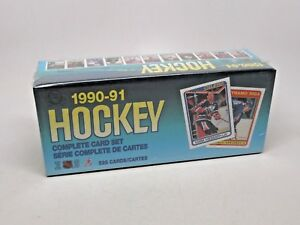 1990-1991-O-Pee-Chee-Hockey-Complete-528-Card-Set-Sealed-Curtis-Joseph-RC-NEW