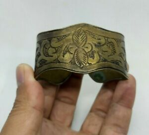 RARE-tres-ancien-bracelet-bronze-roman-artefact-qualite-tres-SUPERBE