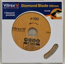 Vitrex Diamond Tile Lama di ricambio 100mm elettrico