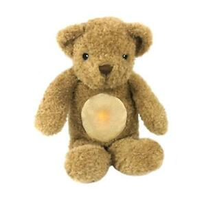 Glow Cuddles Toffee Teddy Bear Cloud B Sleep Aid Heart Beat Glows to Soothe