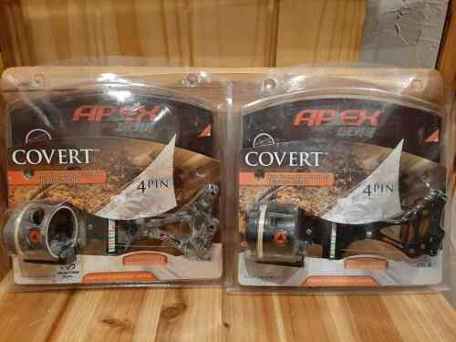 Apex Covert 4-Pin Moving Sight Black or RealTree Xtra