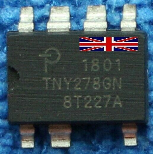 Smd 278 IC parte # tny278gn Off Line Switcher