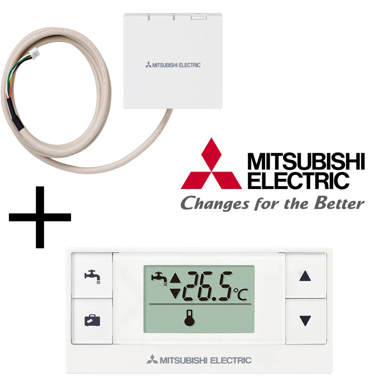 Mitsubishi Mitsubishi Mitsubishi Elect.  Set Funkfernbedienung PAR-WT50R-E+ Funkempfänger PAR-WR51R-E 8110f2