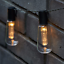 DEL-solaire-alimente-Vintage-Edison-Ampoule-String-lumieres-Garden-Outdoor-Summer-Party miniature 5