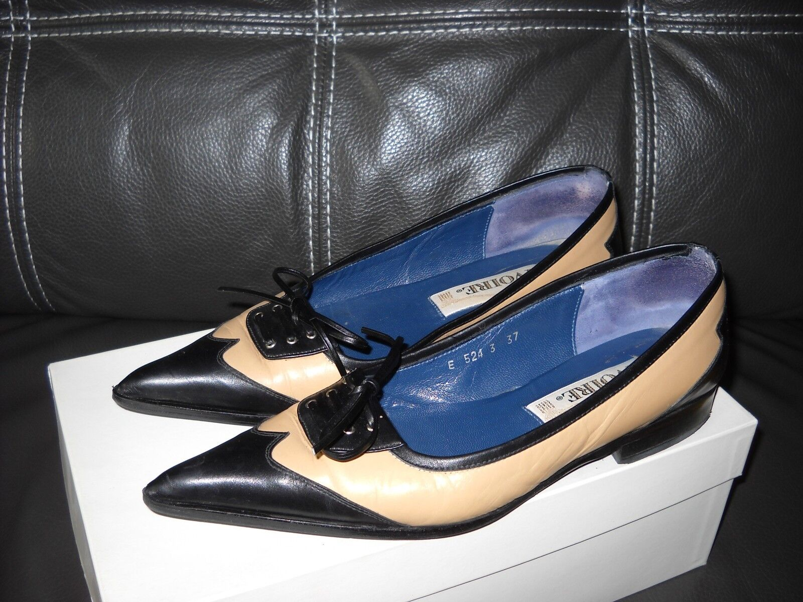 Chaussures BALLERINES SOULIERS BICouleurE MARQUE IVOIRE
