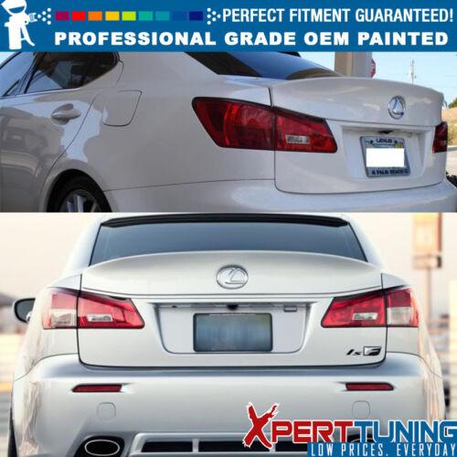 OEM Painted Color Fit 06-13 Lexus IS250 IS350 IK Type ABS Trunk Spoiler