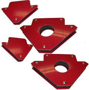 4-Stueck-Magnet-Halter-Set-Magnetwinkel-Werkzeug-Schlosser-Montagewinkel-Magnete