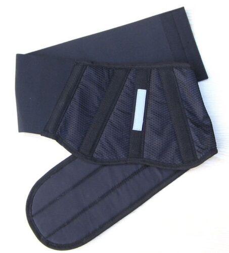 Schwarzer Nierengurt universal Klettverstellung mit Stretch Scooter Quad