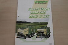 157389) Krone Wickelkombination Combi Pack 1250 1500 MC V Prospekt 09/2002