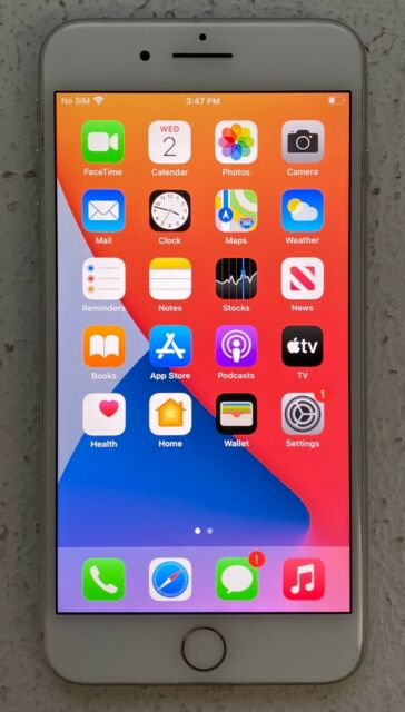 Great Condition Apple iPhone 8 Plus - 64GB - Silver (Factory Unlocked)