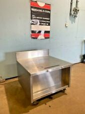 H Duty Stainless Steel Equipment Stand On Caster 3152575h X 33w X 325d