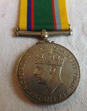 Military George VI Cadet Force Medal Act Flt Lt R.S.Adamson R.A.F V.R.(T) (1760)