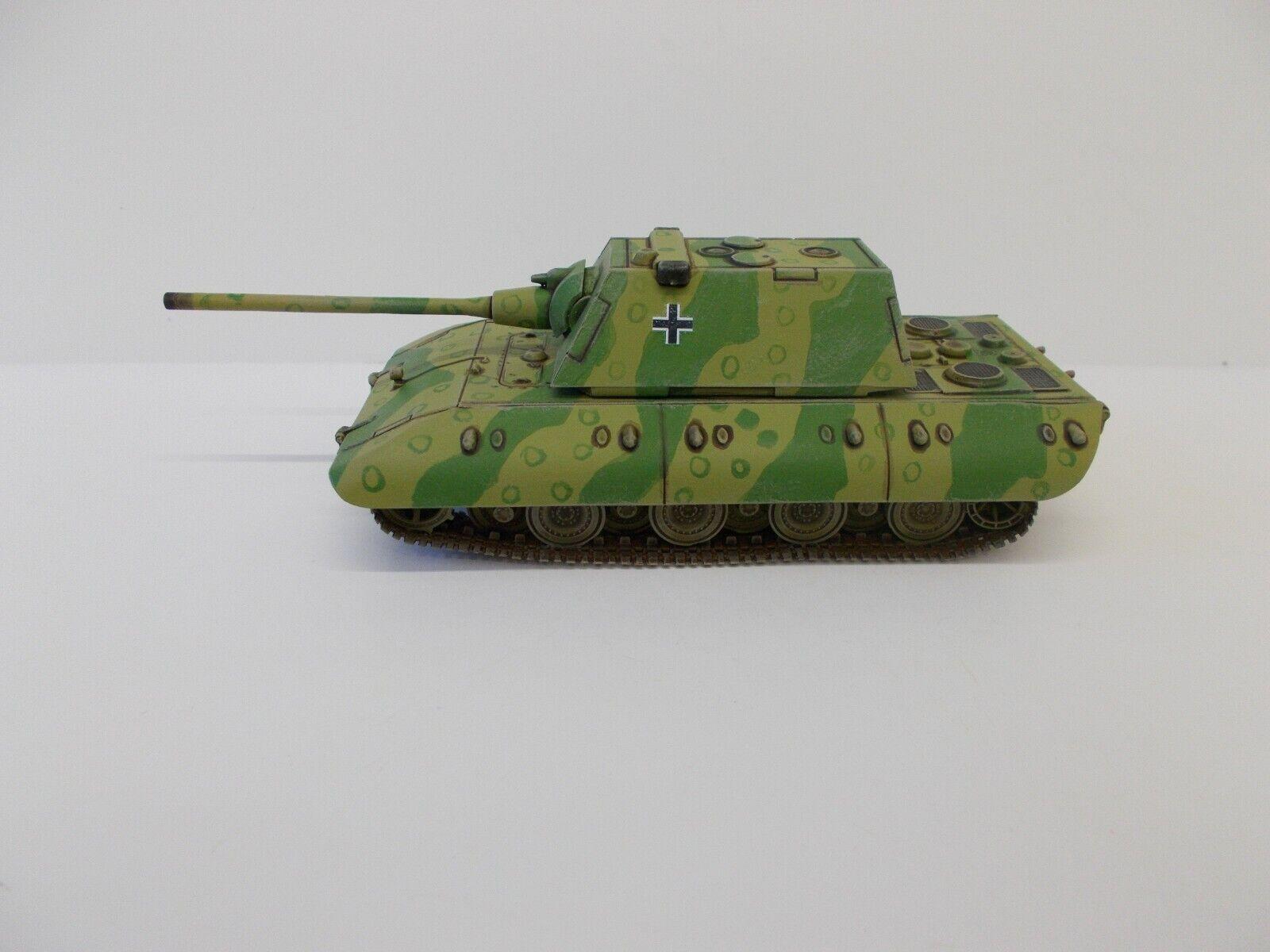 Venta al por mayor barato y de alta calidad. 1 72 Segunda Segunda Segunda Guerra Mundial construido & Pintado German E-100 Ausf C  ahorra hasta un 70%
