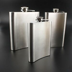 5-6-7-8-OZ-Hip-Flask-Stainless-Steel-Pocket-Drink-Whisky-Flasks-TOP