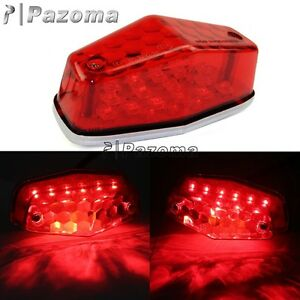 Lucas Type 525 Rear LED Tail Light Assembly Triumph BSA Norton 1948-55 Harley
