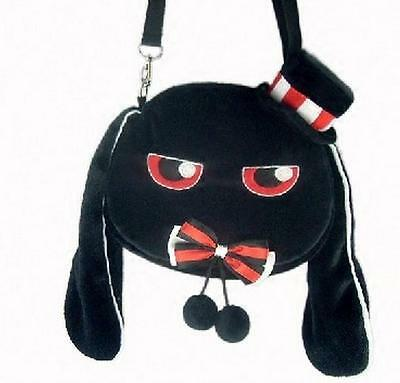 Lolita Rabbit Plush Doll Toy Shoulder Bag Alice Cos Gift Customized Gift Black