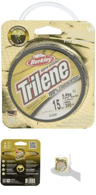 Trilene 100% Fluorocarbon Professional Grade/Leader Material Fishing Line