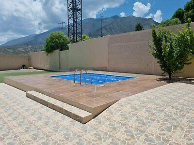 terreno en bella unión de 1000m2 en venta con casa de 3 recamaras, alberca climatizada y palapa!