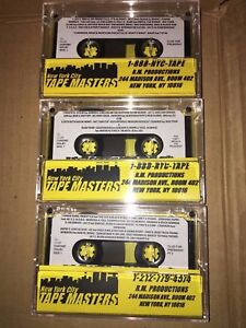 Details about DJ CLUE? FOR PRESIDENT CLASSIC NYC MIXTAPE CASSETTE SERIES  Tape # 1 2 & 3