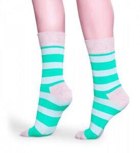 Billiger Preis Happy Socks - Socken - Stripe Socks, Streifen Grün / Beige - 36-40 + 41-46 Ausreichende Versorgung