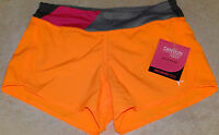 Girls Danskin Now Knit Waistband Shorts W/inner Brief